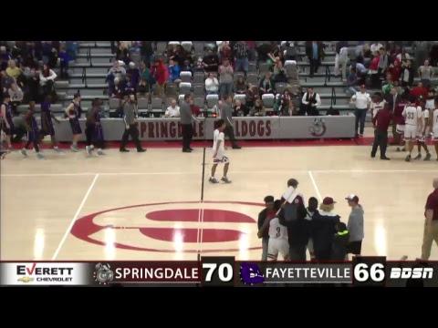 SHS Basketball | vs Fayetteville | Senior Night