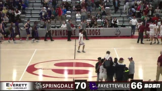 SHS Basketball | vs Fayetteville | Senior Night