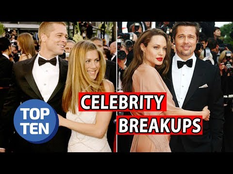 Top 10 Most Heartbreaking Celebrity Breakups