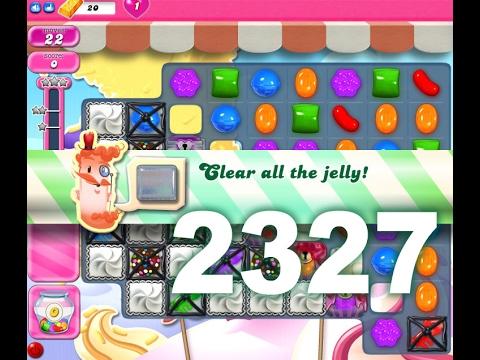Candy Crush Saga Level 2327 (No boosters)