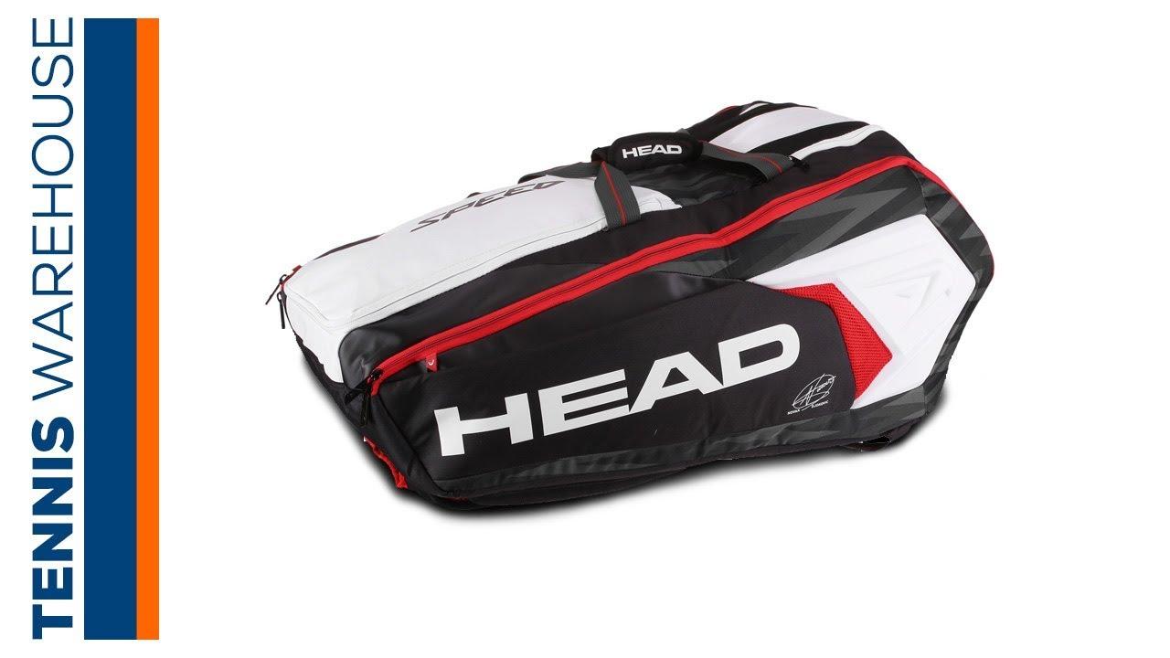 Head Djokovic Monstercombi 12 Pack Tennis Bag Youtube