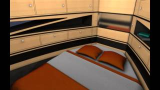 Yacht design Nettuno 40 Sport e Luxury Edition