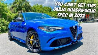 You CANT Get An Alfa Romeo Giulia QV Like This In 2022 And Heres Why