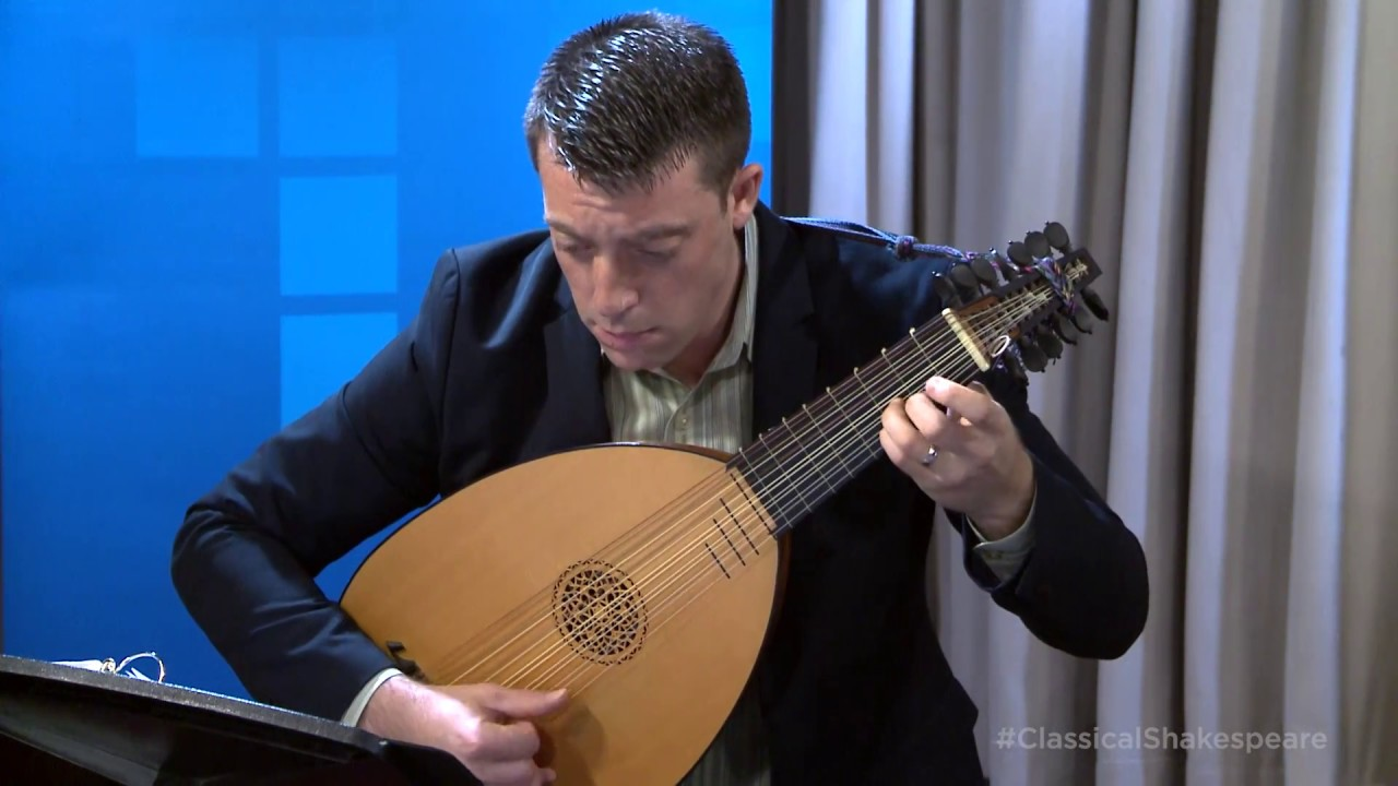 Adam Cockerham Plays Daniel Bacheler's 'Pavin' on the Lute