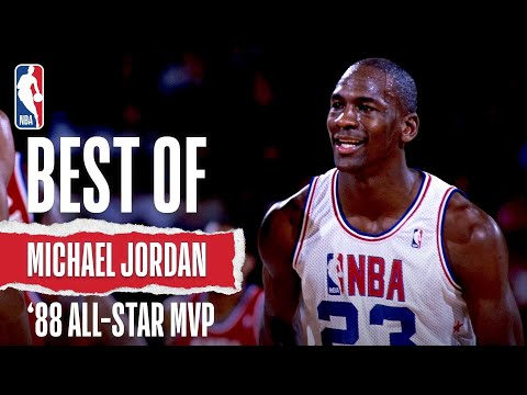 Michael Jordan's MVP Performance At the 1988 All Star Game in Chicago