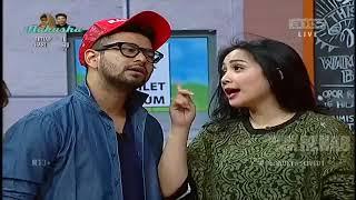 Raffi Ahmad di cium Cewek India Nagita Marah