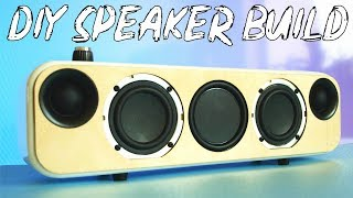DIY Portable Bluetooth + WiFi Speaker Build