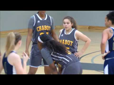 12/4/16 Chabot Gladiators vs Yuba 49ers Women's College Basketball 2