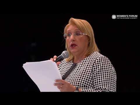 Firestarter: Marie-Louise Coleiro Preca, President of Malta #WFGM17