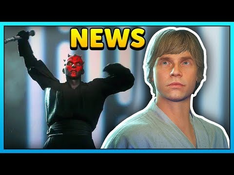How To Get Farmboy Luke Skin + Maul Kenobi Scream - Star Wars Battlefront 2 News