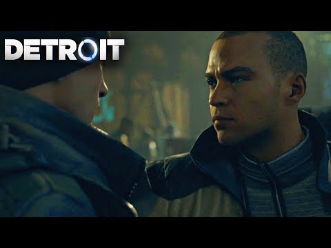 Markus Becomes Connor's Best Friend (Connor & Markus Friendly Moments) - Detroit Become Human