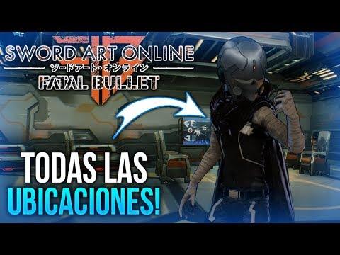 SAO Fatal Bullet | Ubicacion De Todas Las Misiones JcJ (Caza) & Atuendos Legendarios