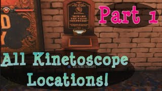 ALL Kinetoscope & Telescope Locations!! PART 1 Sightseer Achievement Trophy Bioshock Infinite