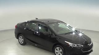 182210 - New, 2018, Chevrolet Cruze, LS, Black, Test Drive, Review, For Sale -