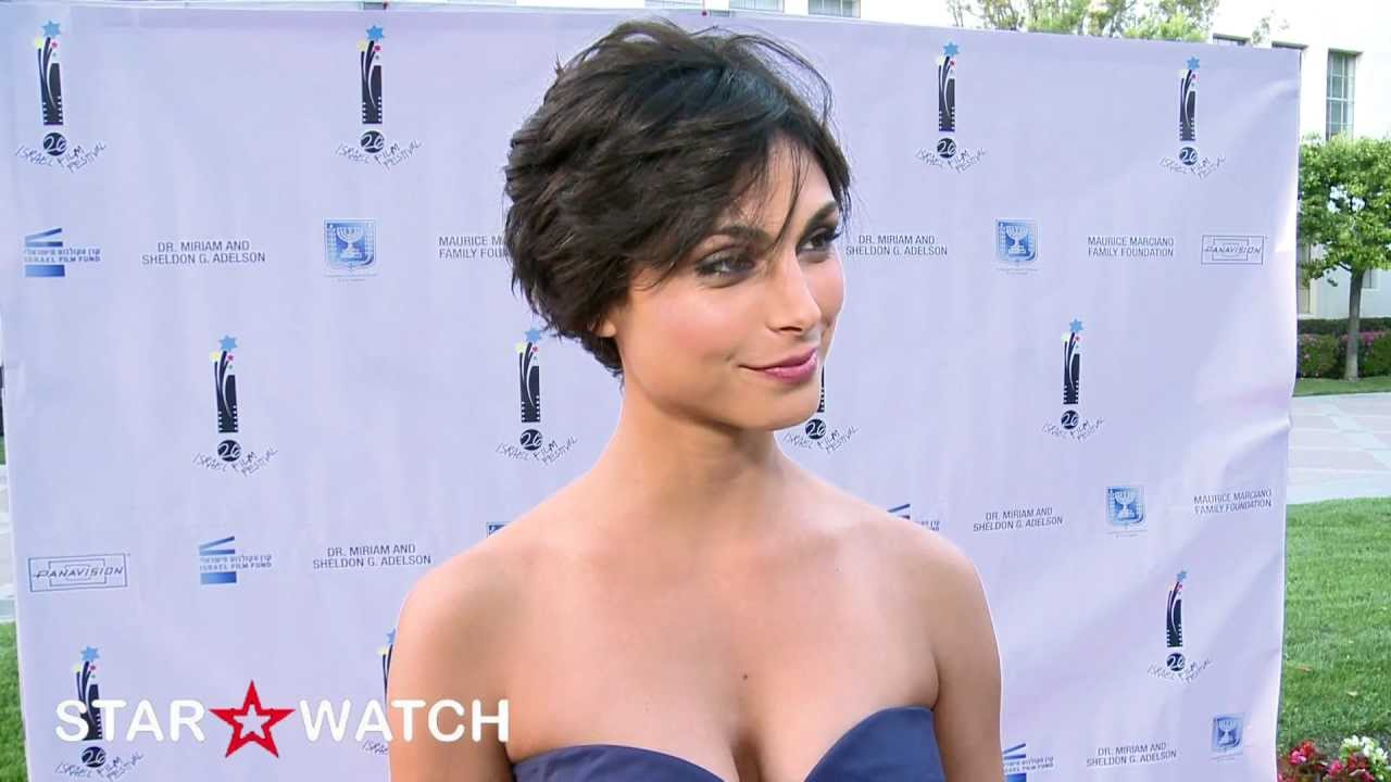Morena Baccarin Red Carpet Interview At 26th Israel Film Festival Youtube