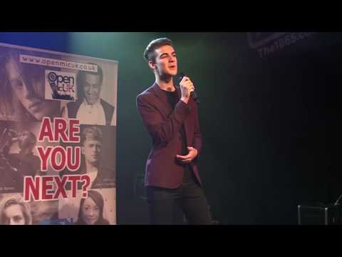 WE ARE IN LOVE – HARRY CONICK JR By ELIJAH JEFFERY At The Southampton Area Final Of Open Mic UK