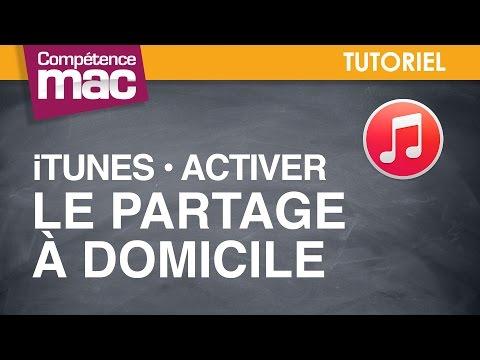 45 • Activer Le Partage à Domicile Dans ITunes • Mac (tutoriel Vidéo)