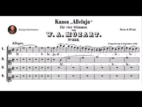 Download Mozart  - 7 Vocal Canons (KV 553-561)