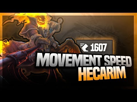 1600 MOVEMENT SPEED'U 750 AD Hecarim One For All