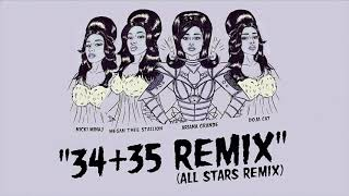 Ariana Grande - 34+35 (The 'All Stars' Remix) feat. Nicki Minaj, Doja Cat and Megan Thee Stallion