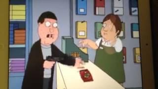 Family Guy Robber steals bike