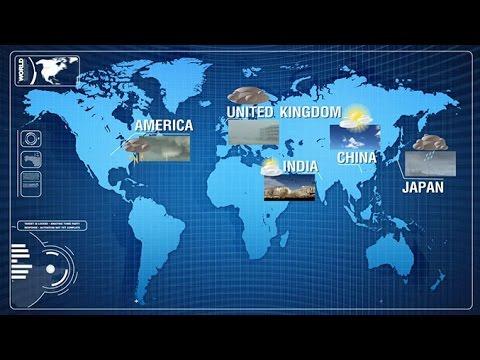 การวิเคราะห์แผนที่อากาศแบบต่างๆ วิทยาศาสตร์ ม.4-6 (โลกและดาราศาสตร์)