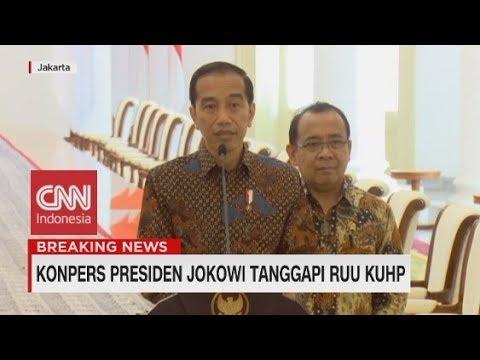 Presiden Jokowi Tanggapi RUU KUHP