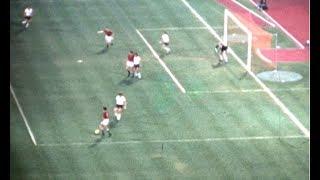 ✘   Olympische Spiele München  Fussball BR Deutschland - Ungarn (Privataufnahmen)