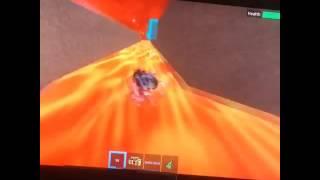 Solo ROBLOX Slide Box Racing Una scatola di YouTube!!! Oh sì e anche Nyan Cat