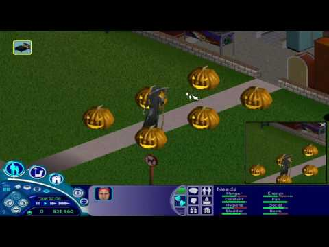 The Sims 1-  The Grim Reaper's Ding Dong...
