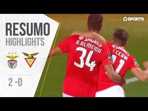 Highlights | Resumo: Benfica 2-0 D. Aves (Liga 18/19 #5)