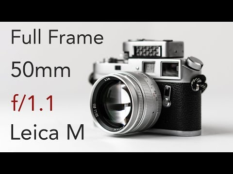 $369 Full Frame 50mm f/1.1 That's Actually Good? Leica M Mount Lens From 7Artisans