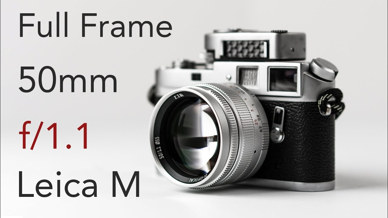 $369 Full Frame 50mm f/1.1 That\'s Actually Good? Leica M Mount Lens From  7Artisans