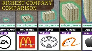 Richest Company Comparison thumbnail