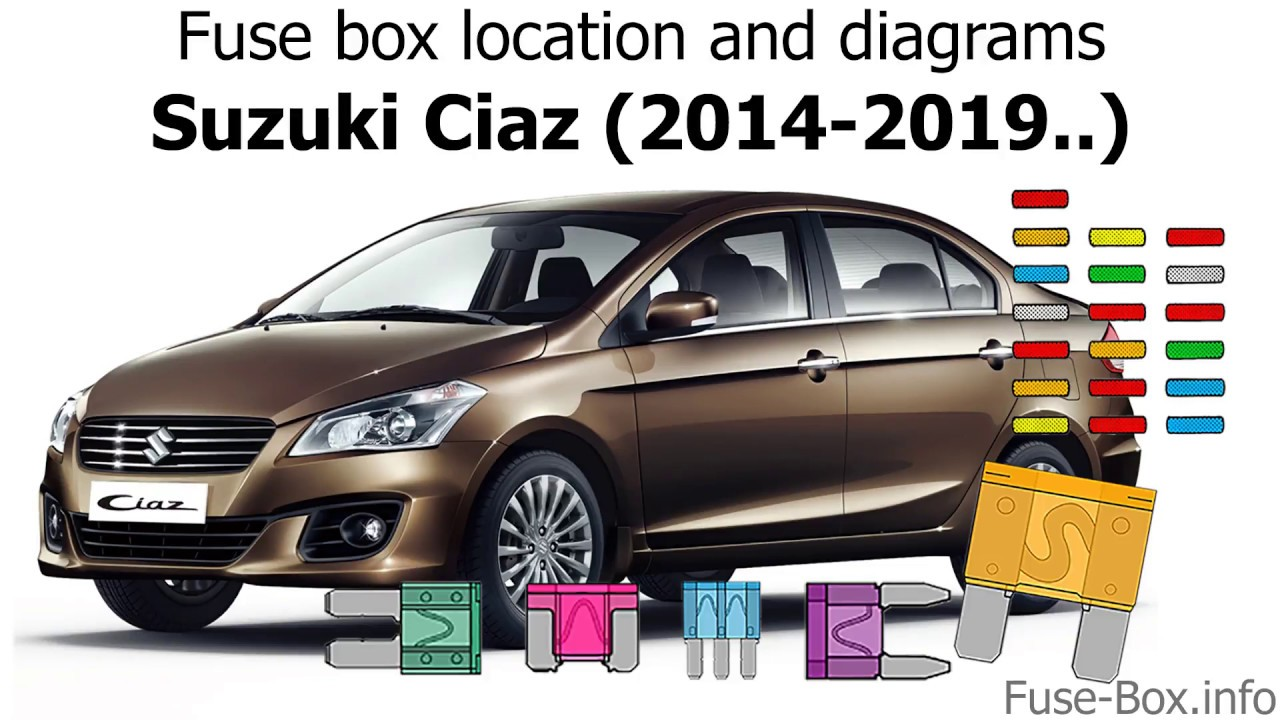 small resolution of suzuki kizashi 2011 fuse box wiring diagram view fuse box location and diagrams suzuki ciaz