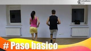 Базовый шаг - сальса начинающие / Обучение / Paso basico - beginners salsa pattern / Tutorial