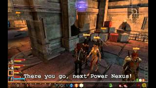 Dragon Age 2 Legacy - How to solve the pillar / columns / laser flow puzzle