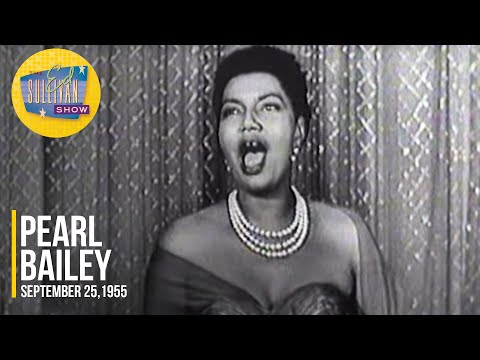 """Pearl Bailey """"Something's Gotta Give"""" on The Ed Sullivan Show"""