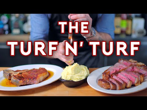 Binging with Babish 6M Subscriber Special: Turf N' Turf from Parks & Recreation