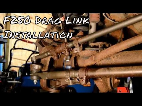 Excursion F350 F250 SD Drag Link /& Tie Rod Rods 2 Wheel 6Pc Twin I Beam Axles