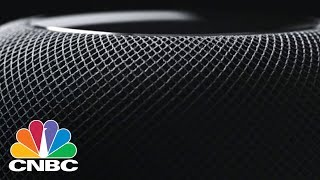 First Look At Apple's HomePod, An Amazon Echo Competitor | CNBC