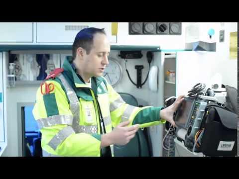 Hatzola Stamford Hill - Dr. Asher Lewinsohn - a tour through the Ambulance