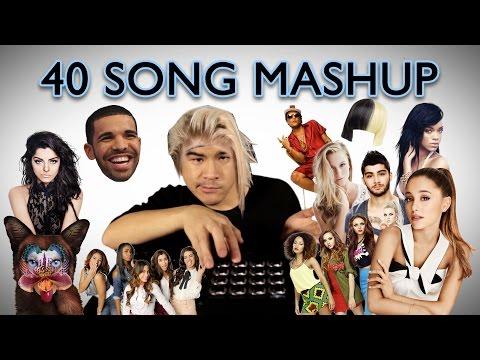 ULTIMATE 2016 MASHUP 40 HIT SONGS  Leslie Wai