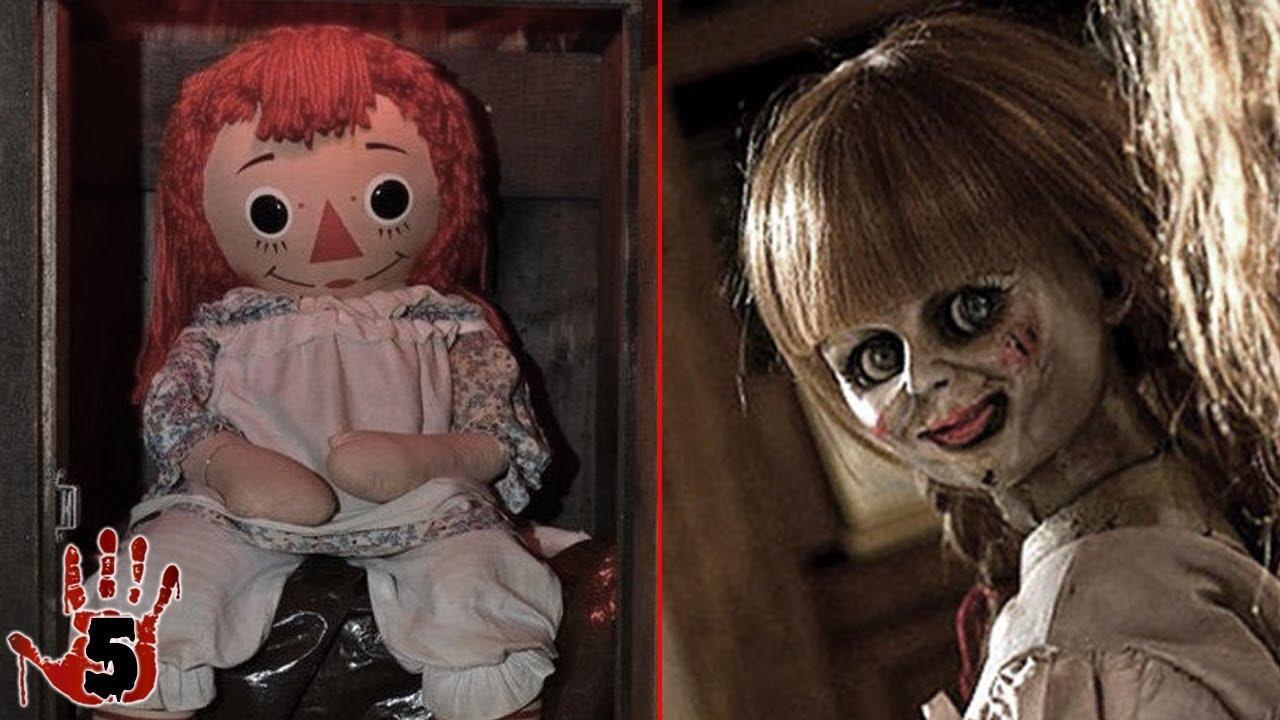top 5 annabelle doll