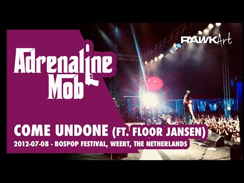 Adrenaline Mob   Come Undone Duran Duran cover ft Floor Jansen Live Bospop 2012