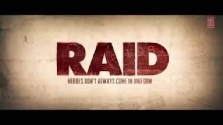 Raid Official Movie trailer 2018 Ajay Devgn