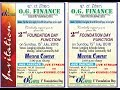 Musical Nite of O.G. Finance 2nd Foundation Day