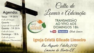Transmissão ao vivo de Gileade Limoeiro thumbnail