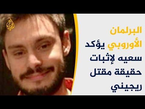 البرلمان الأوروبي يؤكد سعيه لإثبات حقيقة مقتل جوليو ريجيني  - نشر قبل 2 ساعة