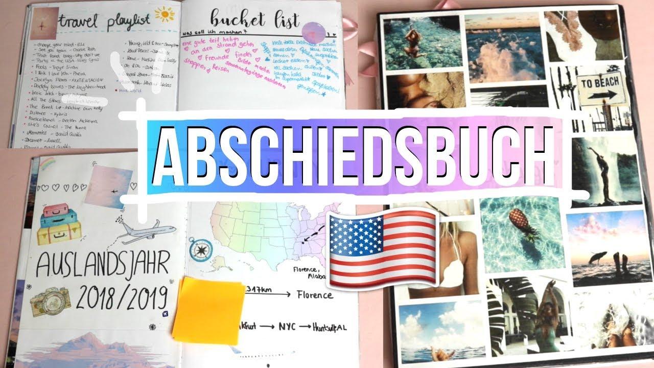 Mein Abschiedsbuch Auslandsjahr 2018 19 Usa Jackie Alice
